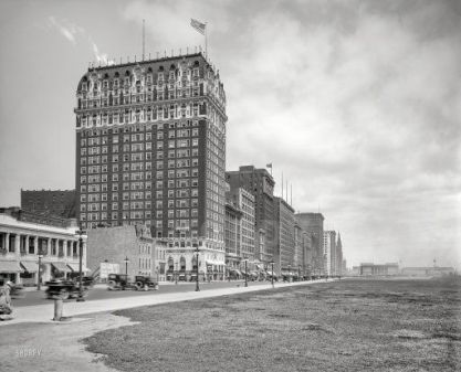 The Blackstone Hotel was Governor Lowden's temporary Headquarters During the 1919 Riots