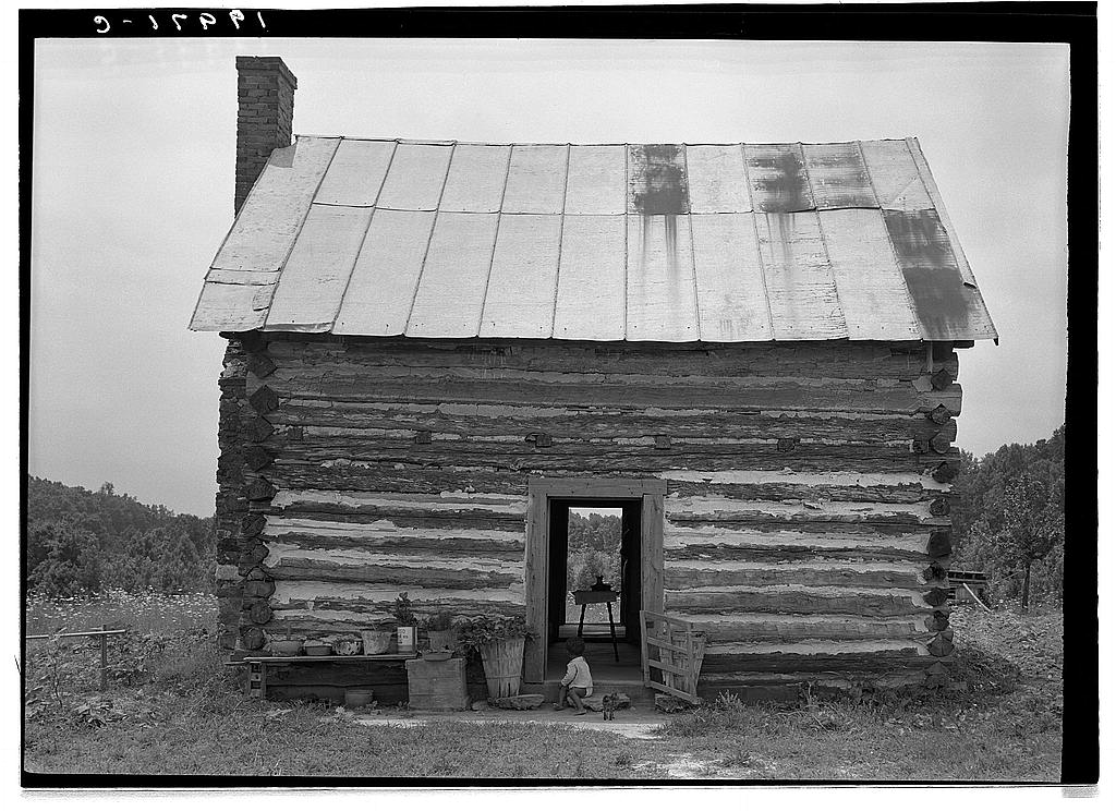 Sharecropper cabin