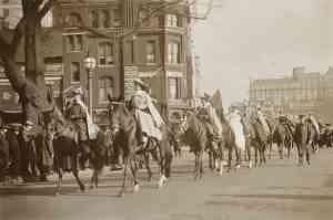 Parade 6-9-1914 Wash DC c Everette Historical shutterstock_242817016