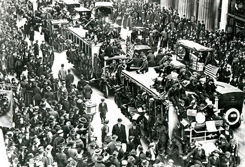 Amistice Day 1918 NY