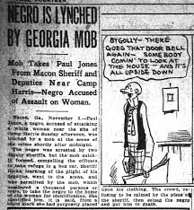 Georgia Lynching